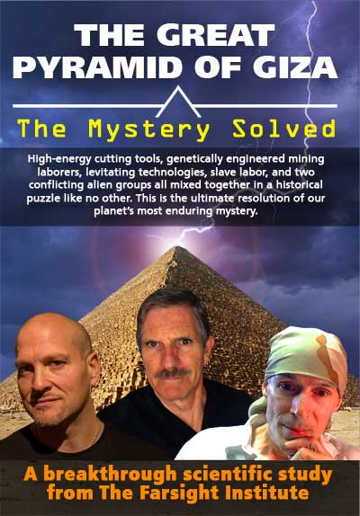 Great Pyramid of Giza Video Poster. The Farsight Institute